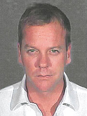 Kiefer Sutherland Picture from Glendale Police Department