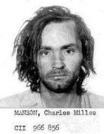 Charles Manson Mugshot courtesy Wikipedia.org